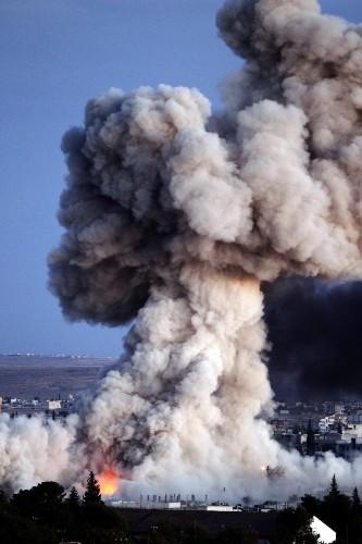 Kobani Under Siege: Photo Gallery