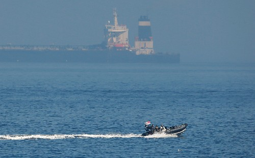 Court documents show U.S. seeks seizure of Iranian tanker violating sanctions