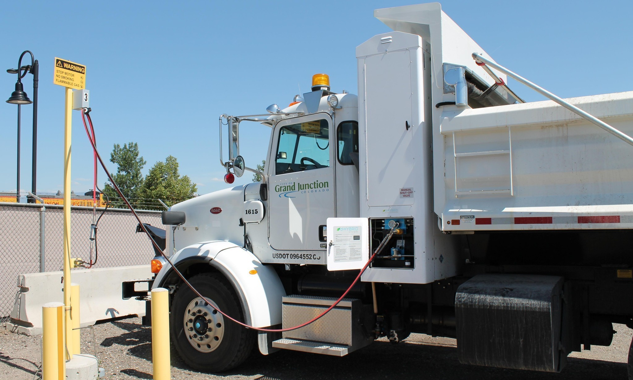 Power to the poop: one Colorado city is using human waste to run its vehicles