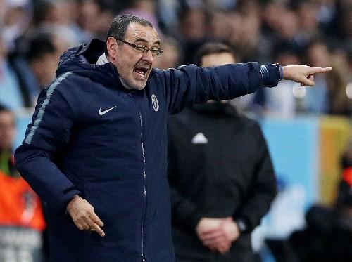 Soccer: Zola likens Sarri's Chelsea struggle to Guardiola's at Man City