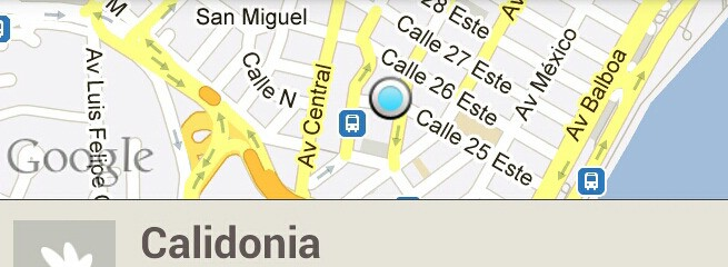 Nuestra ubicacion calidonia calle 25 panama city