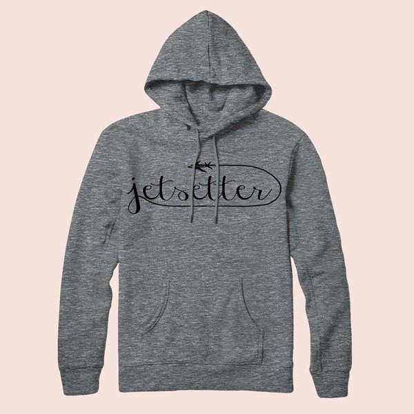 Jetsetter - Pullover Hoodie, Sweatshirt, Graphic