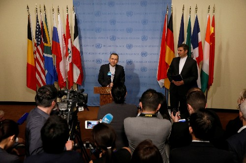 At U.N., Iran says atmosphere not right for U.S. talks, U.S. pushes diplomacy