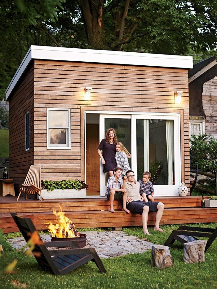 Articles about family builds tiny backyard studio even tinier budget on Dwell.com