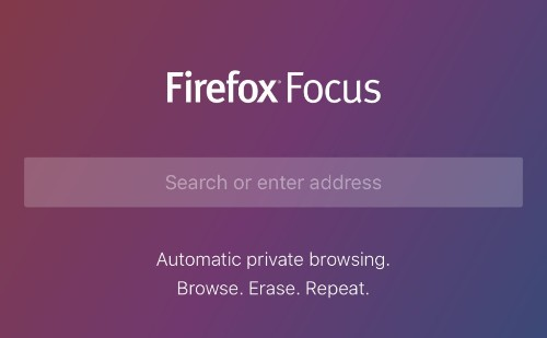 Mozilla launches Firefox Focus, a private web browser for iPhone