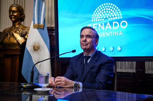 Argentina's Macri chooses moderate running mate in move to broaden base