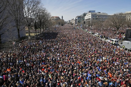 Millions 'March For Our Lives': Pictures