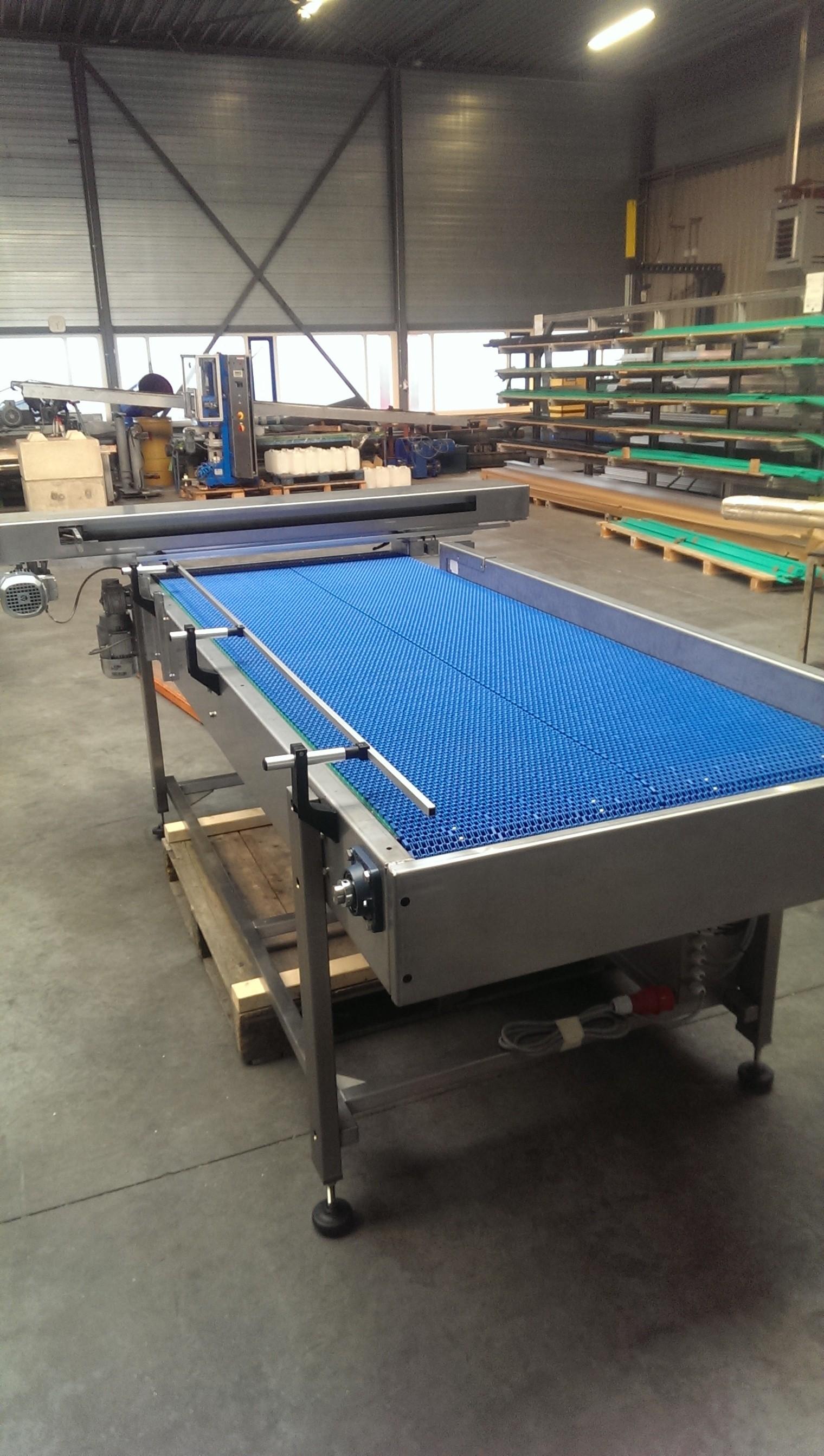 Buffer table ready for shipment