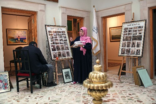 As war rages, Tripoli art gallery opens in rundown old city