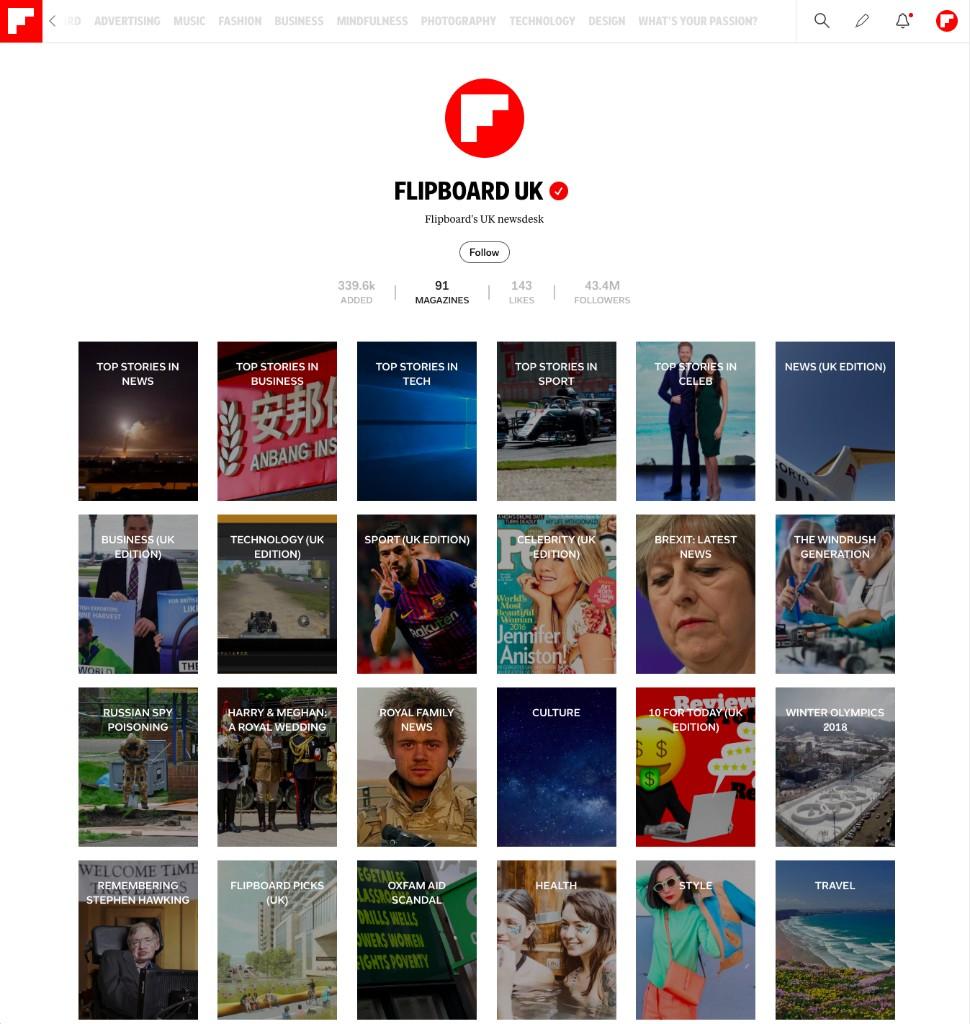 Marketing & Advertising at Flipboard - cover