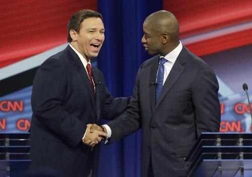 DeSantis, Gillum tackle Trump and more in Florida debate