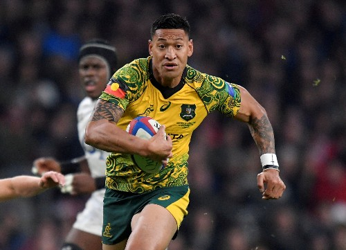 No Folau appeal lodged against contract termination - Rugby Australia