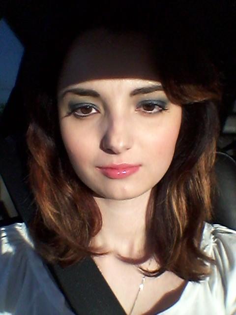 My professional make up! Awwww!!