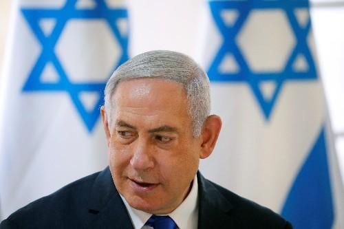 Israel's Netanyahu sharpens focus on settlements, two days before ballot