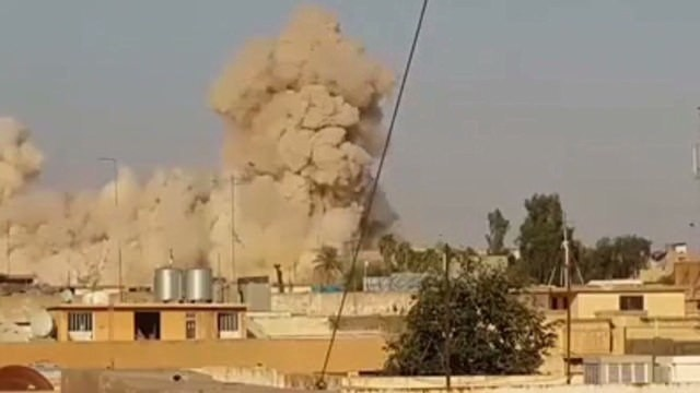 Officials: ISIS blows up Jonah's tomb in Iraq