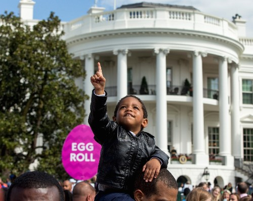 Annual Easter Egg Roll at the White House: Pictures