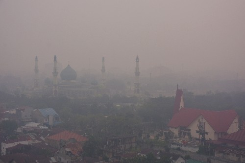 Indonesia says some forest fires started on Malaysian-controlled land