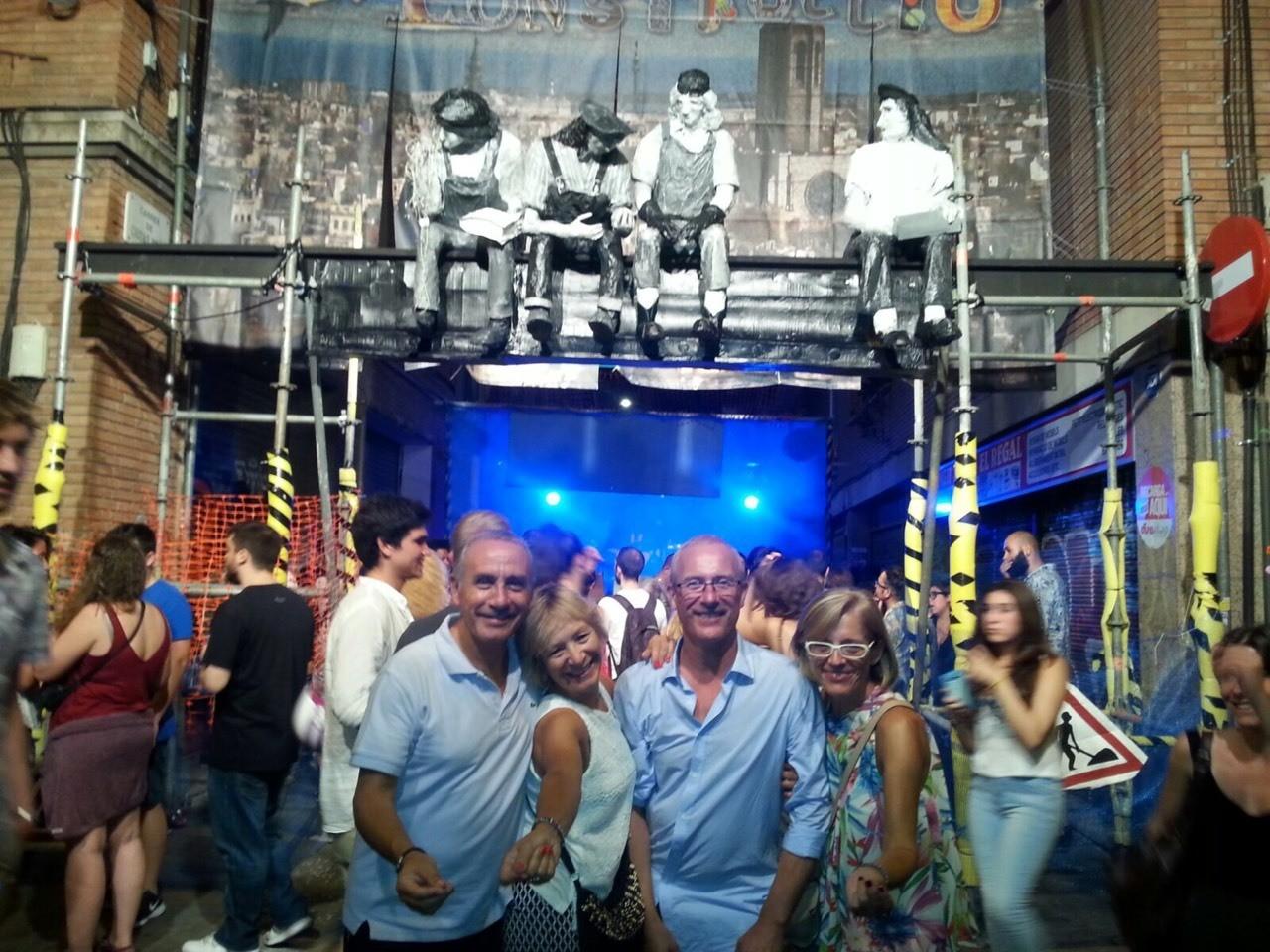 Gracia 2015 que buena noche al son de la rumba catalana