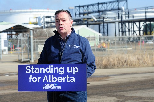 Alberta opposition makes Canadian PM Trudeau the adversary in provincial election