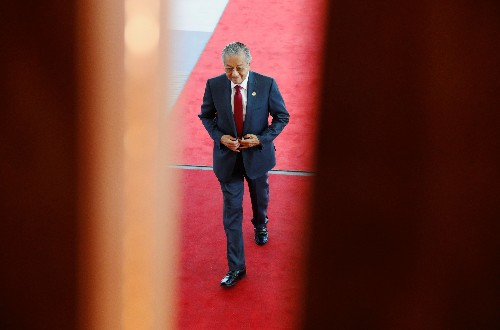 Malaysia's Mahathir says some state-owned entities may be listed