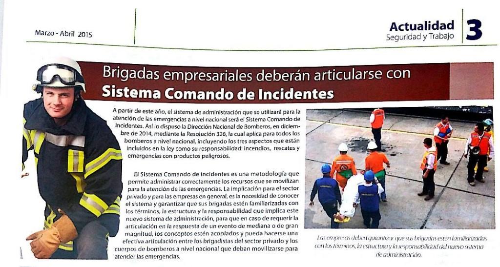 Emergencias - Magazine cover