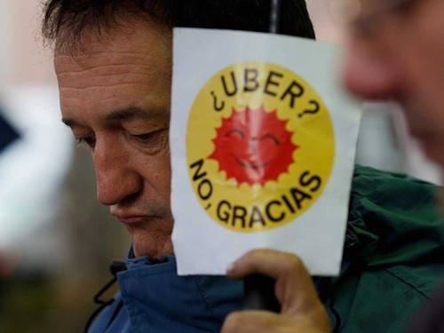 Uber Is Suspending Its Operations In Spain