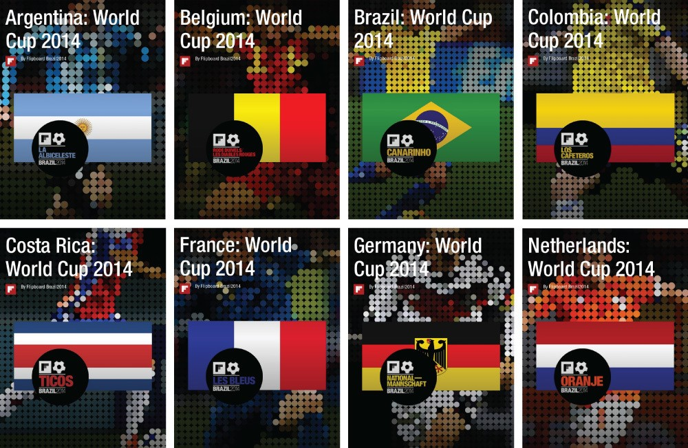 Eight Fan-Curated Magazines Remain. Only One Will Represent the 2014 World Cup Champion