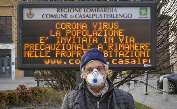 corona virus en itali - cover