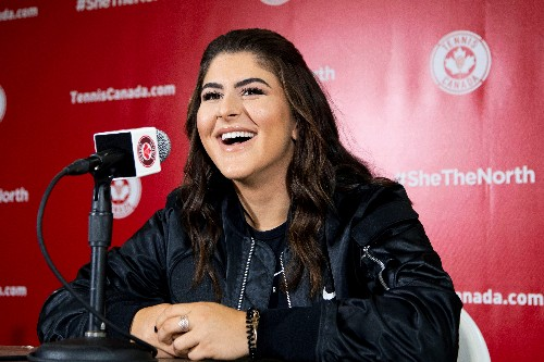 Andreescu named Canada's athlete of the year after breakout season
