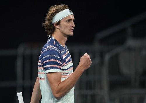 Zverev halts Rublev juggernaut to reach first Melbourne quarters