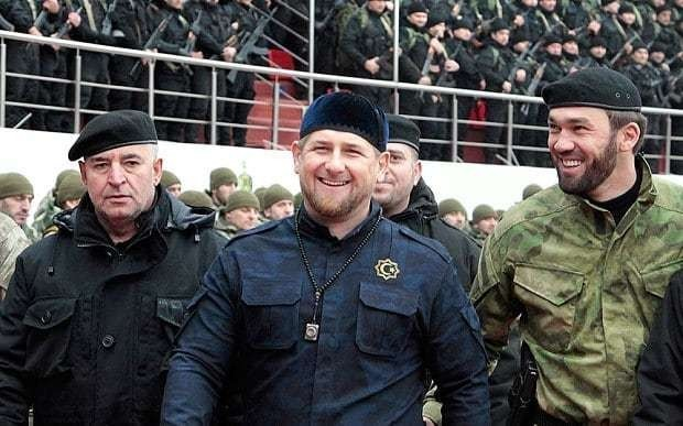 Putin gives state medal to Chechnya leader who praised Nemtsov suspect