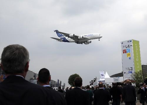 Opening Day at the Paris Air Show: Photos