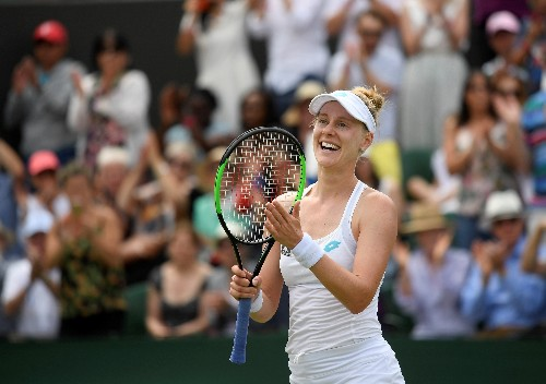 Top-ranked Barty ousted at Wimbledon