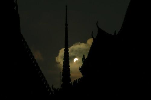 Rare Solar Eclipse in Asia: Pictures