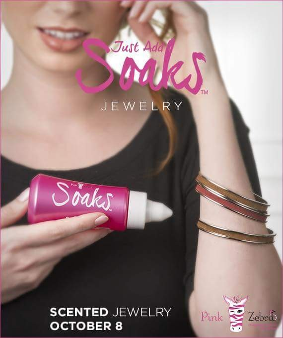 Introducing Just Add Soaks jewelry at my PZ Independent Consultant online store, pinkzebrahome.com/avonwithangie