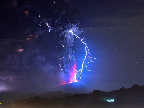 THE SHOT: A Volcanic Eruption in Chile