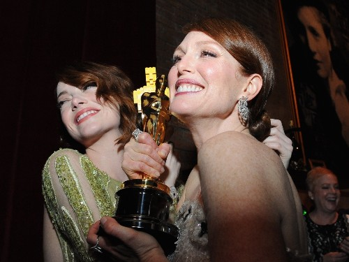 Partying at The Oscars: In Pictures