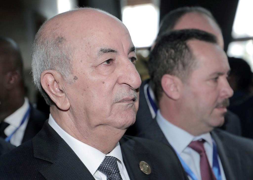 Algerian president, 75, self isolates as pandemic spreads