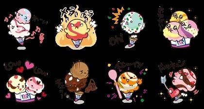 09/10(二) 日本區貼圖 - Flavor Sticker 免費(180天) line://shop/detail/1159