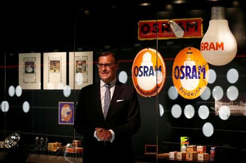 Osram shares surge 12% after AMS triggers bidding war