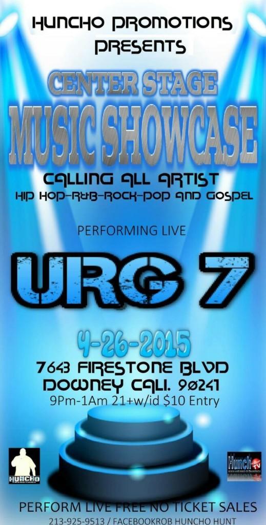 The URG7 SHOW - Magazine cover