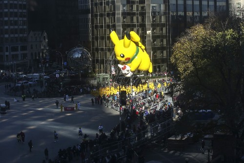 Macy's Thanksgiving Day Parade in Pictures