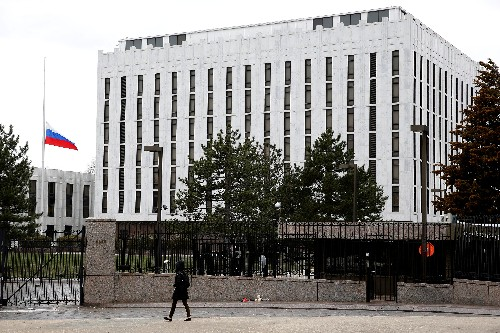 Russia summons U.S. diplomat in Moscow in protest over visa row