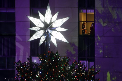 NYC Xmas Tree Lighting in Pictures