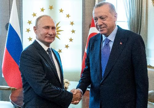 Turkey's Erdogan to meet Putin in Russia October 22