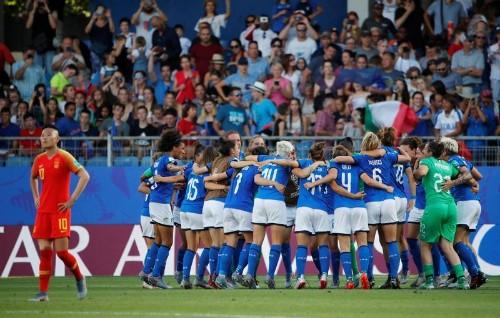 L'Italie s'impose face à la Chine et file en quarts
