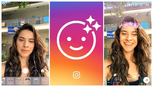 Instagram launches selfie filters, copying the last big Snapchat feature