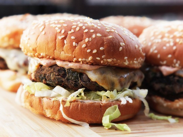 Really Awesome Black Bean Burgers Recipe