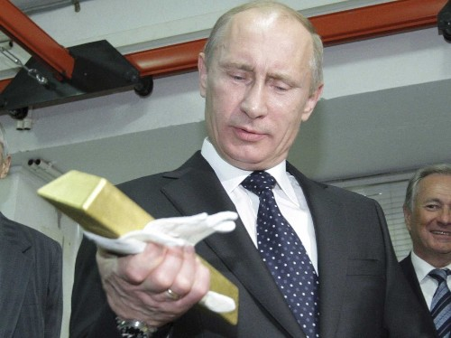 Russia is doubling down on gold
