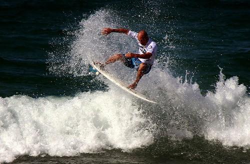 Surfs up, Igarashi riding wave of Olympic opportunity